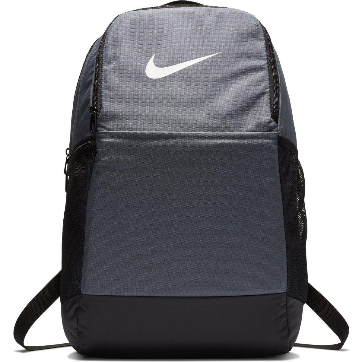 Mochila Nike Brasília 9.0 24 Litros - Cinza  - REAL ESPORTE