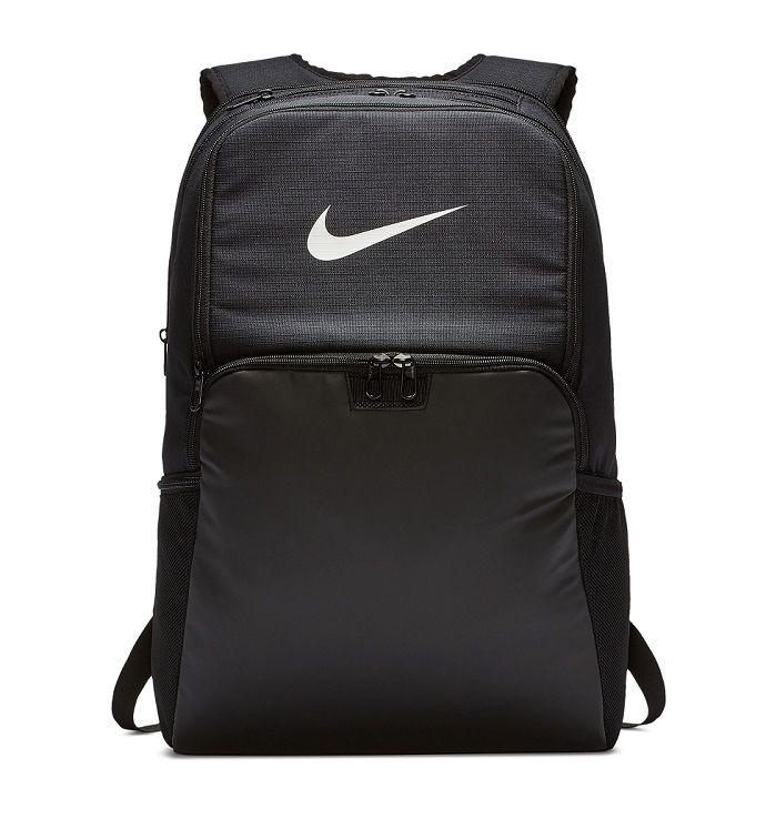 Mochila Nike Brasília XL 9.0 - 30 Litros - Preto e Branco  - REAL ESPORTE