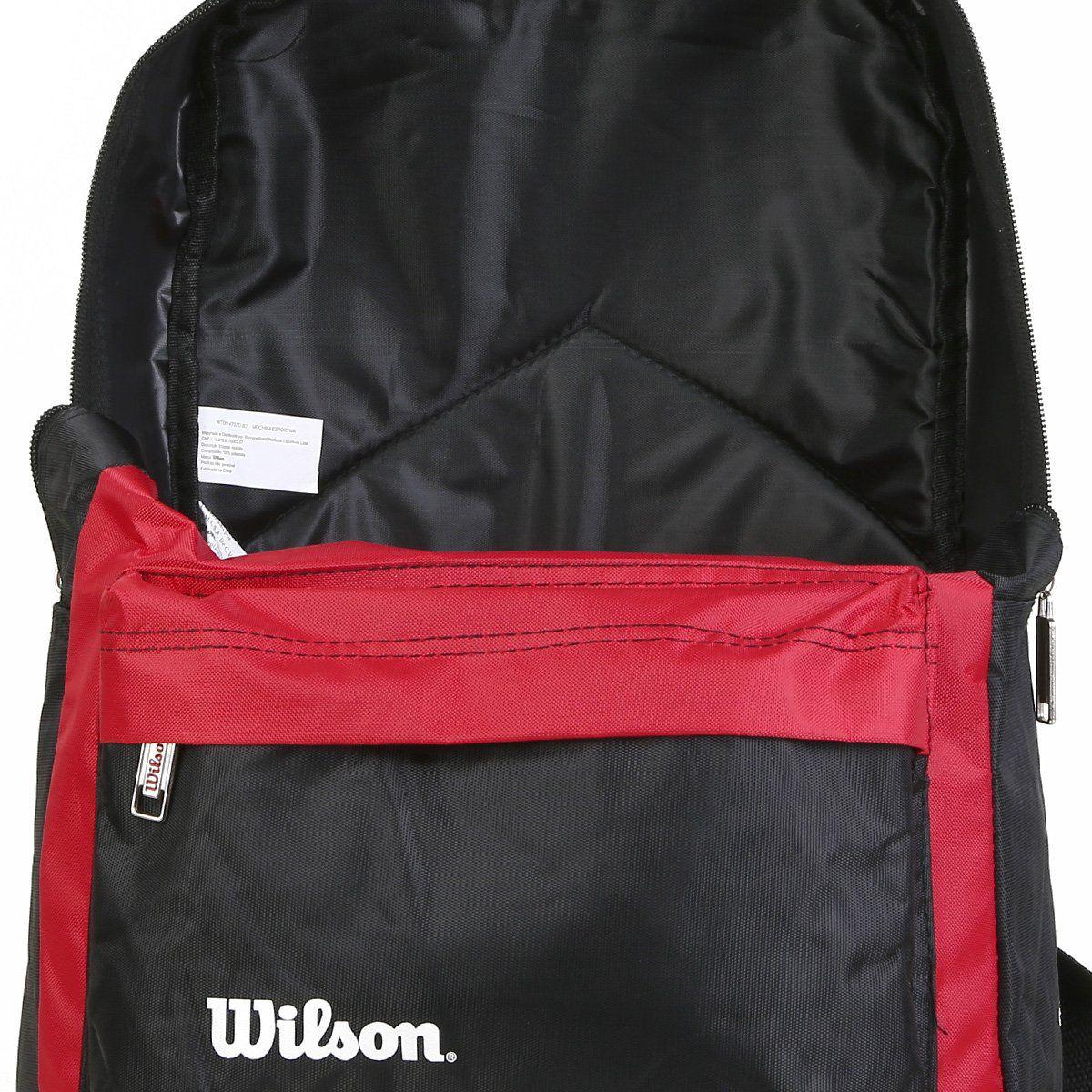 Mochila Wilson Esp WTIX14707DB2 - Vermelha  - REAL ESPORTE