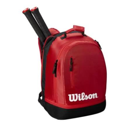 Mochila Wilson Federer Team Backpack -  Vermelha  - REAL ESPORTE