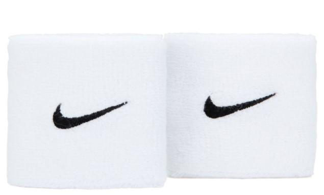 Munhequeira Nike Swoosh - Branca  - REAL ESPORTE