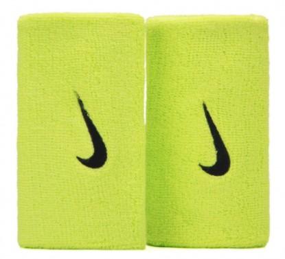 Munhequeira Nike Swoosh - Verde  - REAL ESPORTE