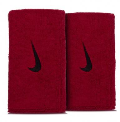 Munhequeira Nike Swoosh - Vermelho  - REAL ESPORTE