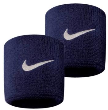Munhequeira Nike Wristbands Pequena - Azul/Marinho  - REAL ESPORTE