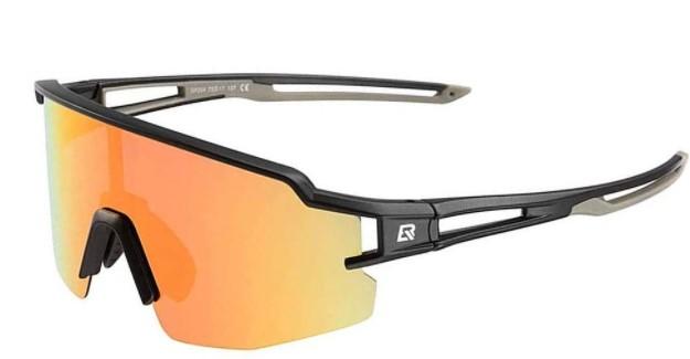 Óculos Ciclista Polarizado Color Rockbros - Preta/Cinza  - REAL ESPORTE