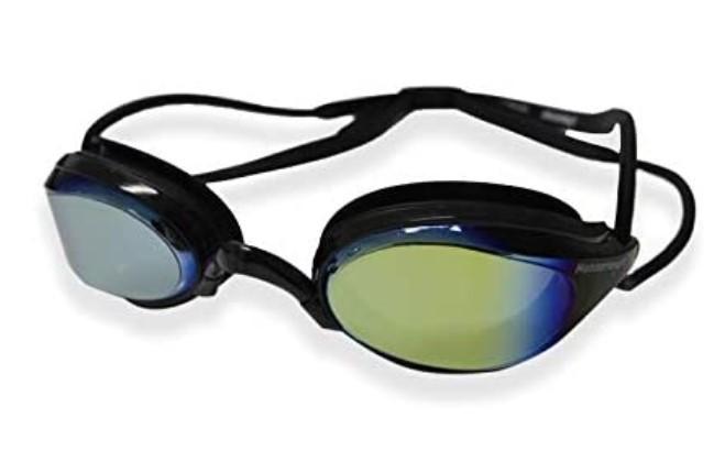 Óculos De Natação Hammerhead Aquatech Mirror - Preto Espelhado  - REAL ESPORTE