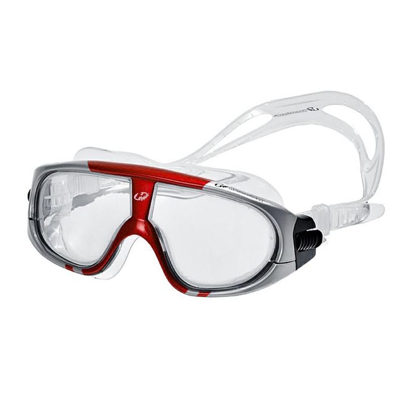 Óculos de Natacão Hammerhead Extreme - Cinza Vermelho  - REAL ESPORTE