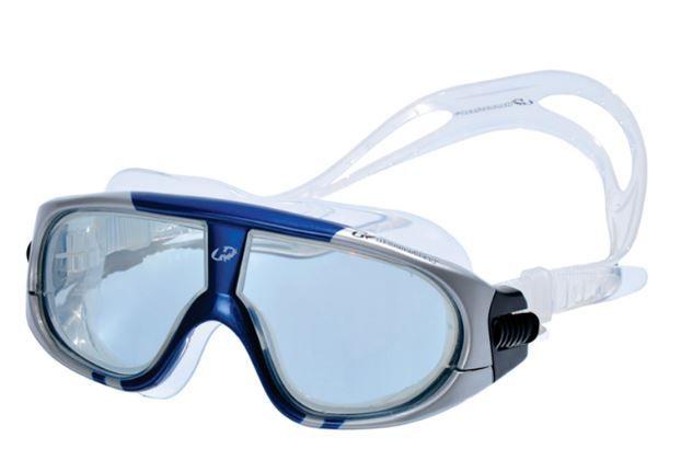 Óculos de Natacão Hammerhead Extreme - Fumê/Azul/Prata  - REAL ESPORTE