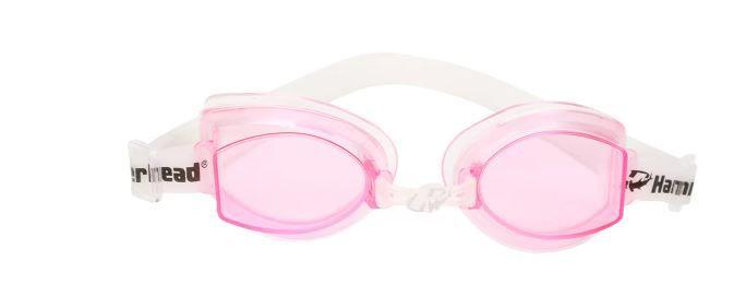 Óculos de Natacão Hammerhead Focus Junior 1.0 - Rosa/Branco  - REAL ESPORTE