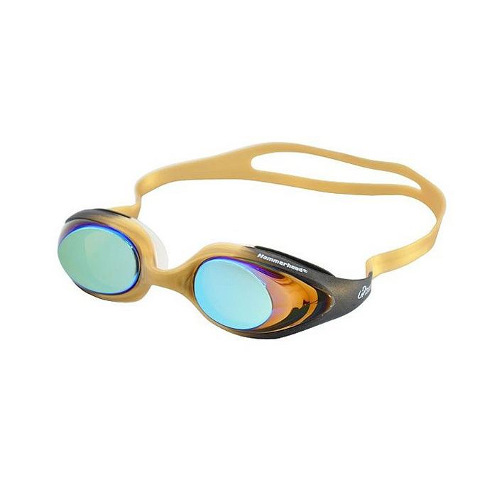 Óculos de Natacão Hammerhead Infinity Mirror - Amarelo   - REAL ESPORTE