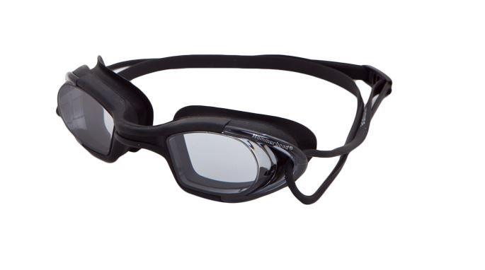 Óculos de Natacão Hammerhead Latitude - Preto/Fumê  - REAL ESPORTE