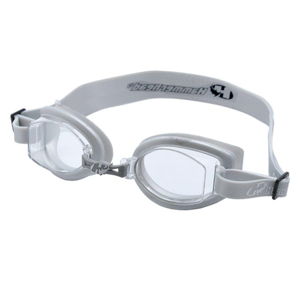 Óculos de Natacão Hammerhead Vortex 1.0 - Cinza  - REAL ESPORTE