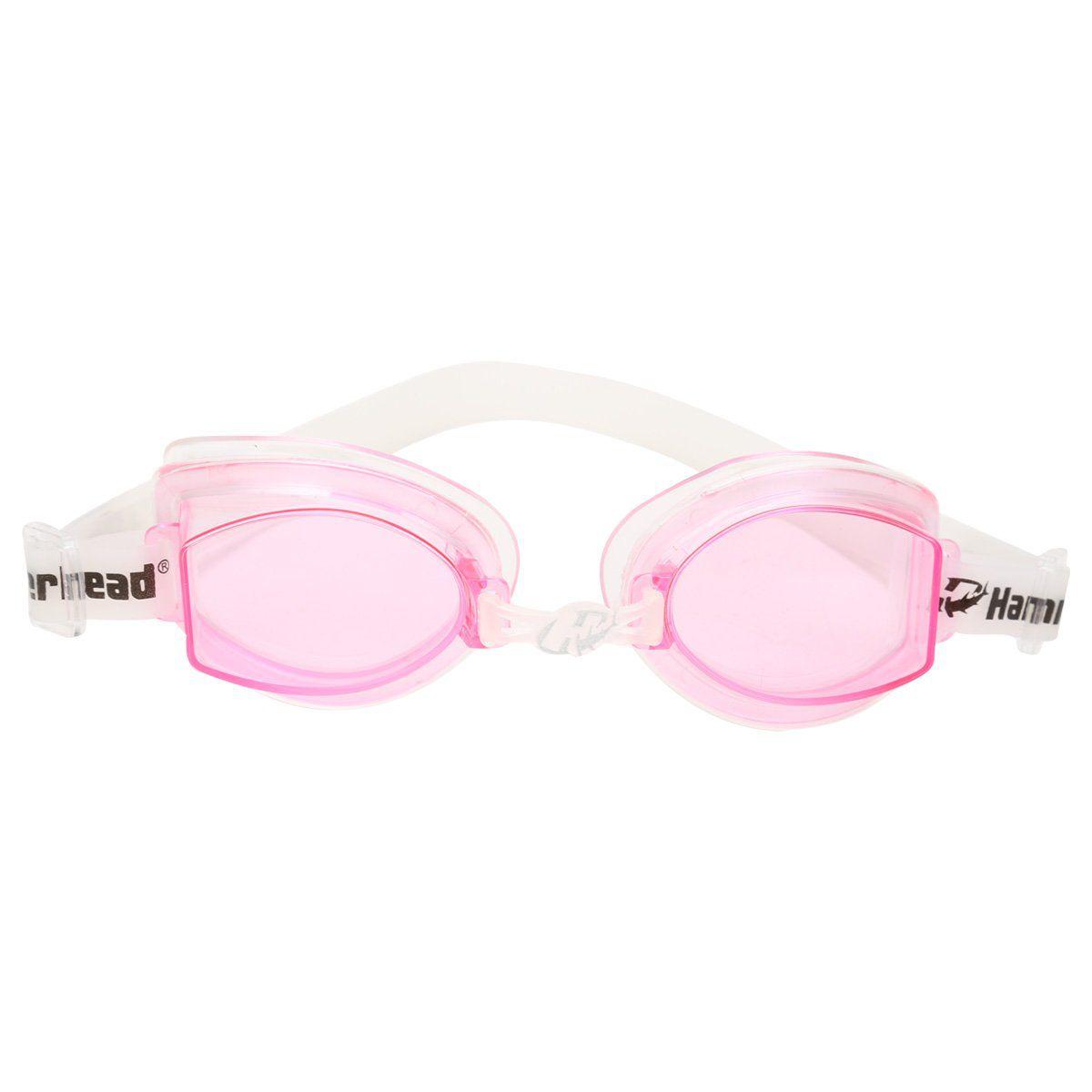 Óculos de Natacão Hammerhead Vortex 1.0 - Rosa  - REAL ESPORTE