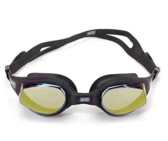Óculos De Natação Speedo Tempest Mirror - Preto  - REAL ESPORTE