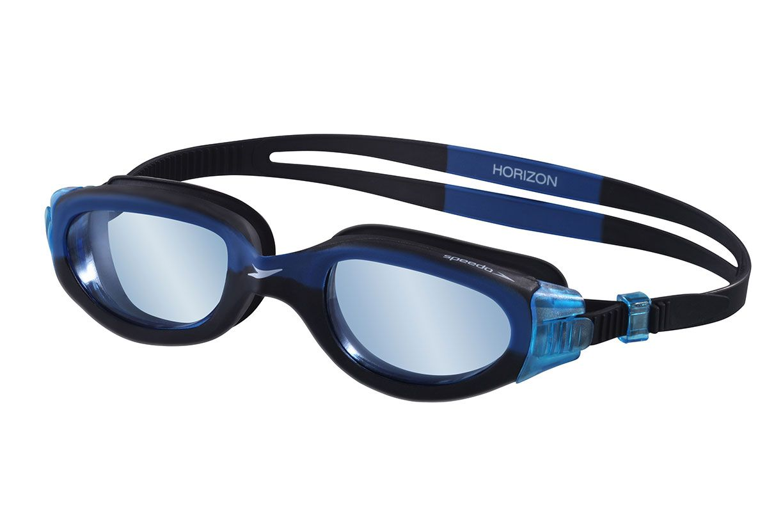 Óculos para Natacão Speedo Horizon Preto/Azul  - REAL ESPORTE
