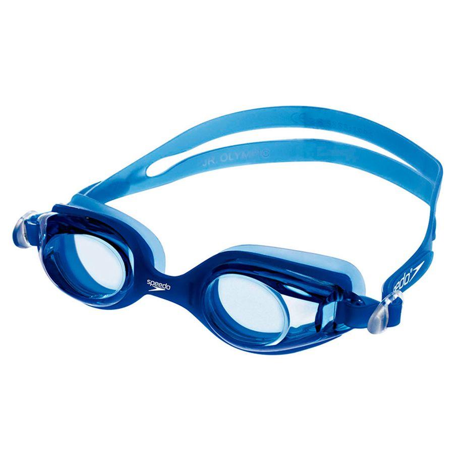 Óculos de Natacão Speedo Jr Olympic Azul  - REAL ESPORTE