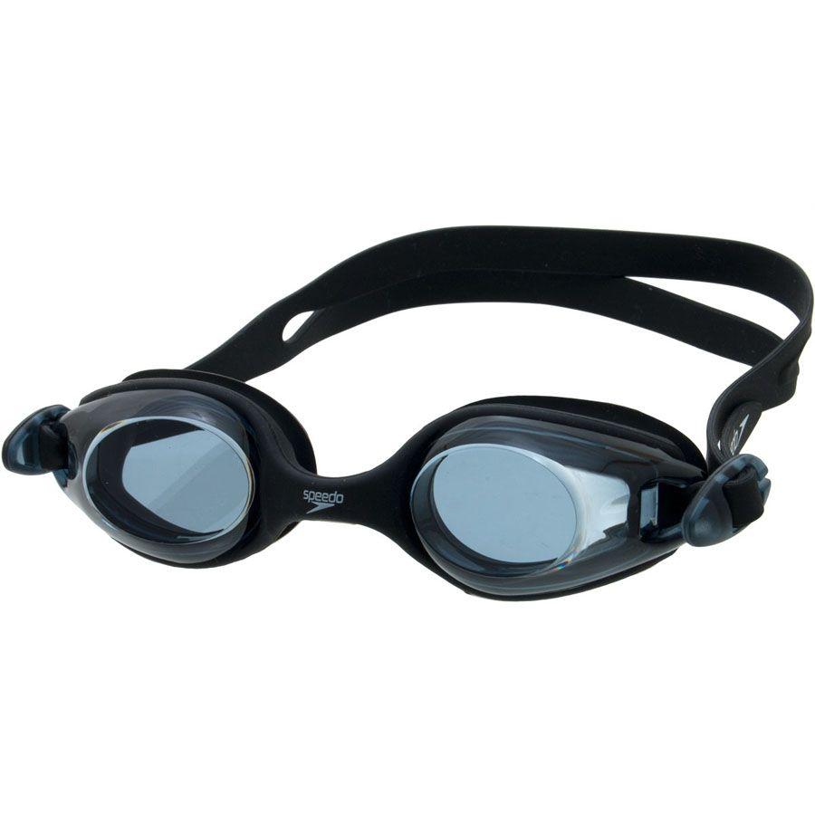 Óculos de Natacão Speedo Jr Olympic Preto  - REAL ESPORTE