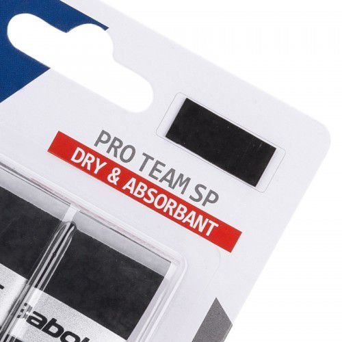 Overgrip Babolat Pro Team X3 Preto  - REAL ESPORTE