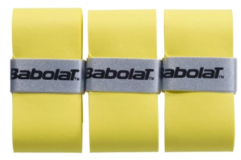 Overgrip Babolat VS Original  X3 - Amarelo  - REAL ESPORTE