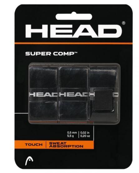 Overgrip Head Super Comp - Preto  - REAL ESPORTE