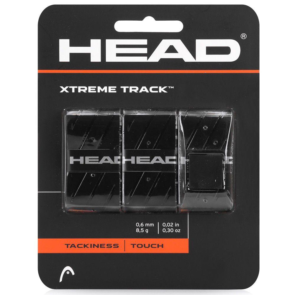 Overgrip Head  Xtreme Track - Preto  - REAL ESPORTE