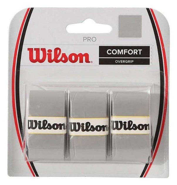 Overgrip Wilson Pro Comfort Cinza  - REAL ESPORTE