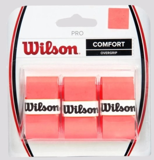 Overgrip Wilson Pro Comfort - Laranja  - REAL ESPORTE