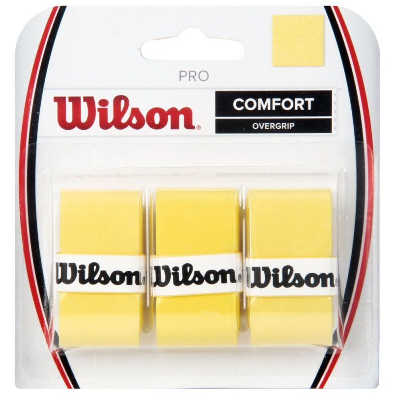 Overgrip Wilson Pro Confort - Amarelo  - REAL ESPORTE