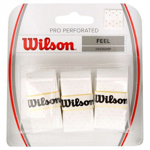 Overgrip Wilson Pro Perforated - Branco  - REAL ESPORTE