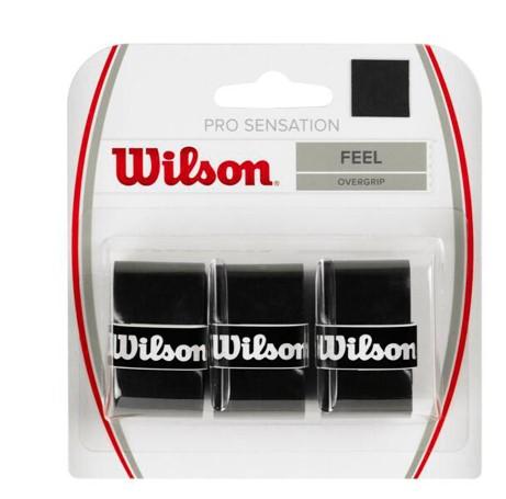 Overgrip Wilson Pro Sensation X3 - Preto  - REAL ESPORTE