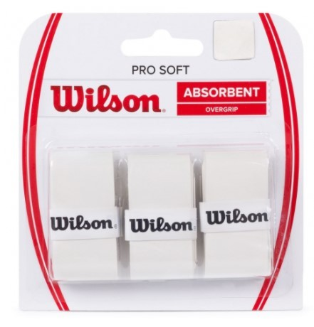 Overgrip Wilson Pro Soft - Branco  - REAL ESPORTE