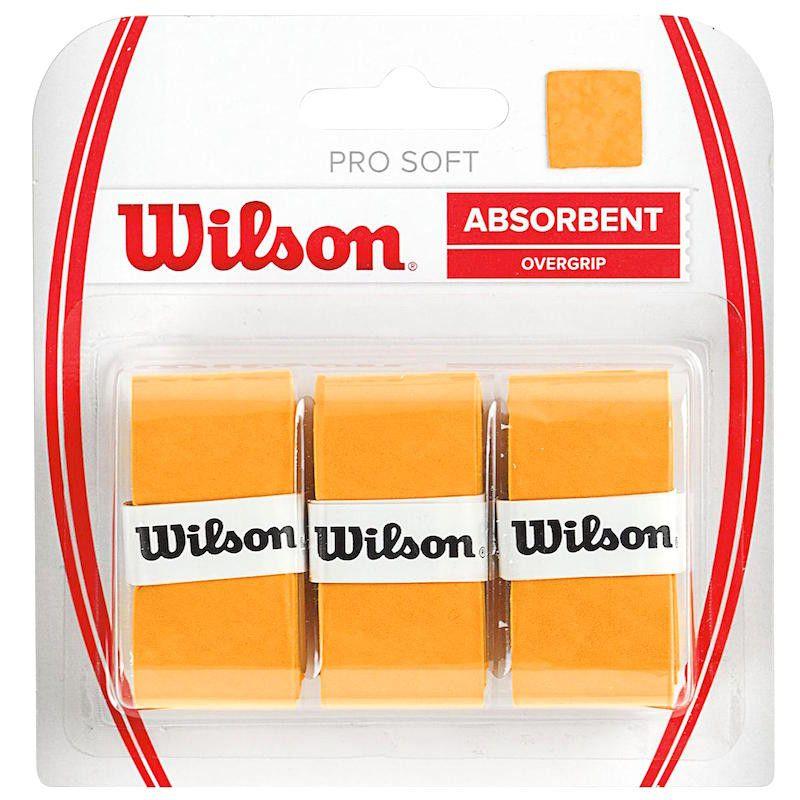 Overgrip Wilson Pro Soft - Amarelo  - REAL ESPORTE