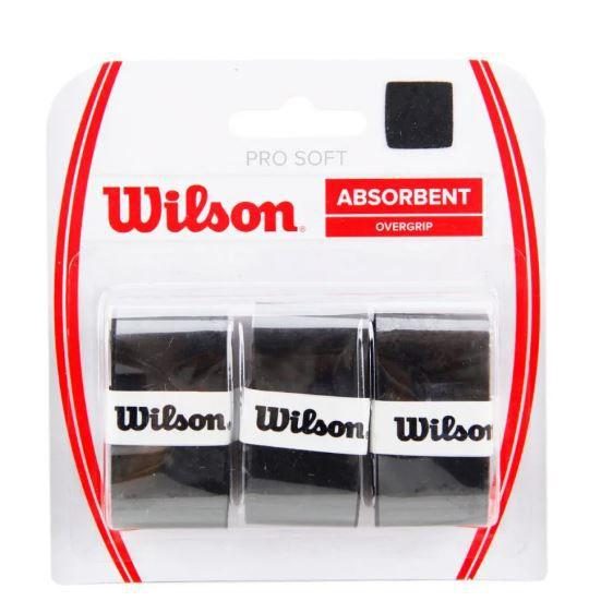 Overgrip Wilson Pro soft - Preto  - REAL ESPORTE