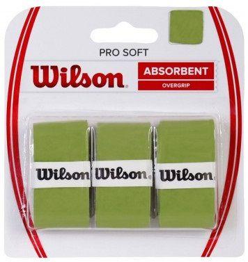 Overgrip Wilson Pro Soft - Verde  - REAL ESPORTE