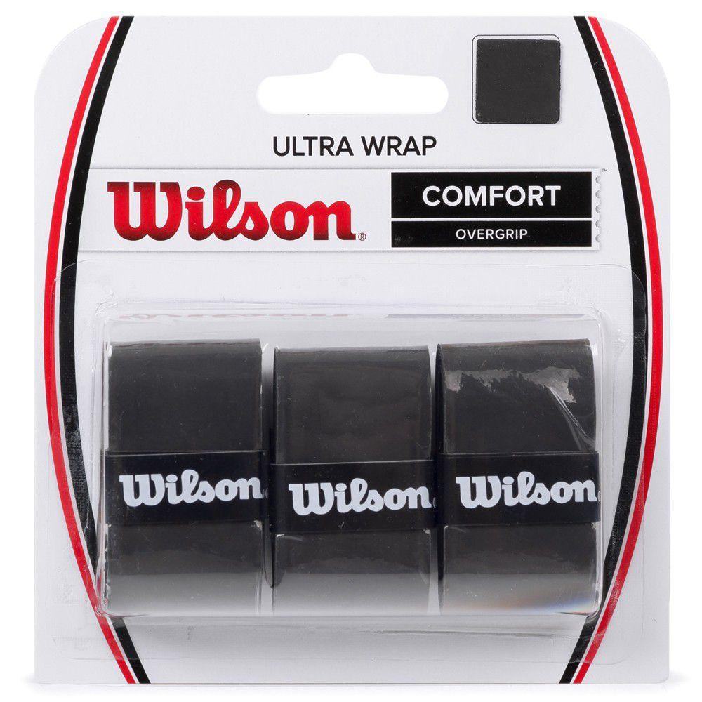 Overgrip Wilson Ultra Wrap - Preto  - REAL ESPORTE