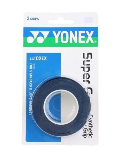 Overgrip Yonex Super Grap c/ 3 unidades - Azul  - REAL ESPORTE