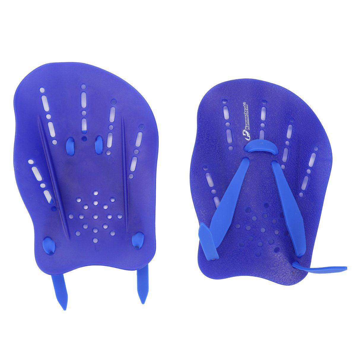Palmar Hammerhead Hand Paddle 2 - Azul Royal  - REAL ESPORTE