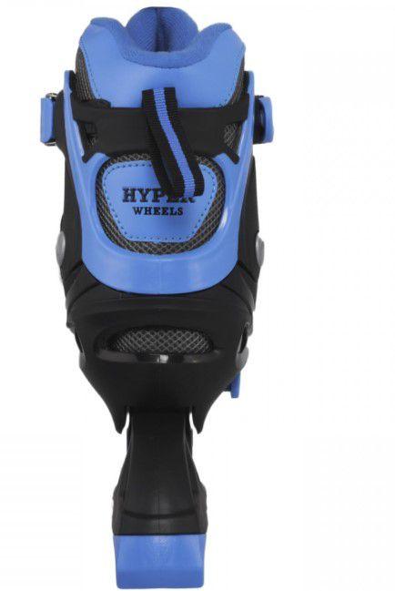 Patins Modelo 259 Hyper Sport 38 ao 41 - Preto/Azul Escuro  - REAL ESPORTE