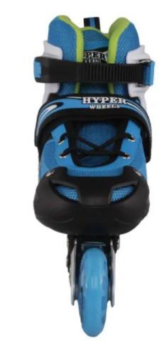 Patins Modelo 259  Hyper Sports  - Azul/Amarelo  - REAL ESPORTE