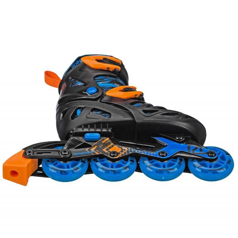 Patins Infantil Inline Roller Derby Ajustável  - REAL ESPORTE
