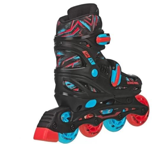 Patins Inline Roller Derby Shift Boys 32 -36  - REAL ESPORTE