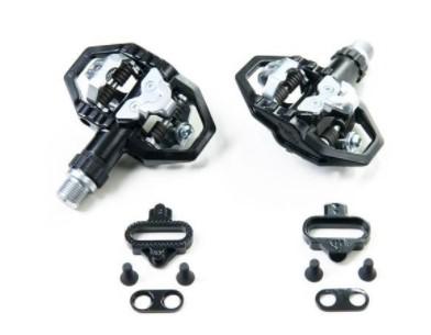 Pedal Clip MTB Alumínio Wellgo 279 9/16 - Preto  - REAL ESPORTE