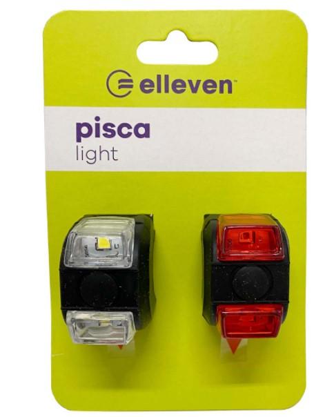 Pisca Light  C/Led 3 Funções Elleven - Preto  - REAL ESPORTE