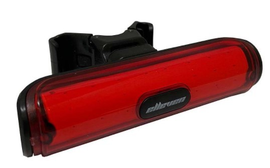 Pisca Light Elleven Super Brilho Luz Traseira Bateria Usb Ciclismo  - REAL ESPORTE