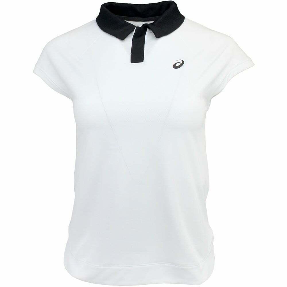 Polo Feminina Asics W Tenis - Branco  - REAL ESPORTE