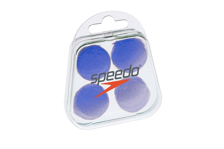 Protetor de Ouvido Speedo Soft Earplug - Azul  - REAL ESPORTE