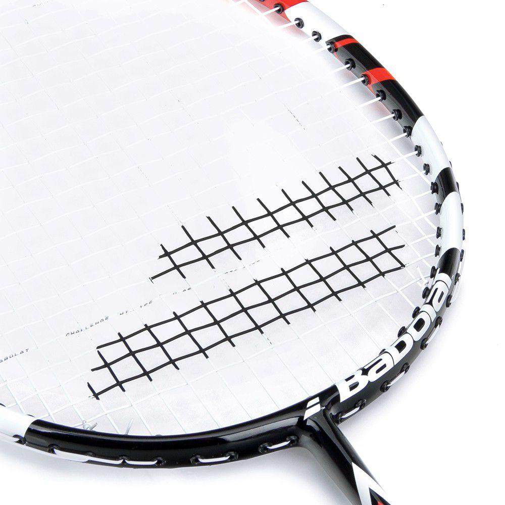 Raquete de  Badminton Babolat First Blast  - Vermelho  - REAL ESPORTE
