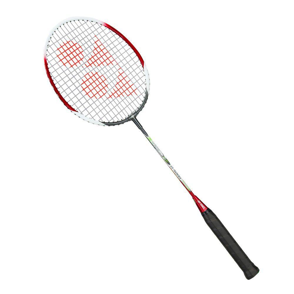 Raquete de  Badminton Yonex B4000  Vermelha   - REAL ESPORTE