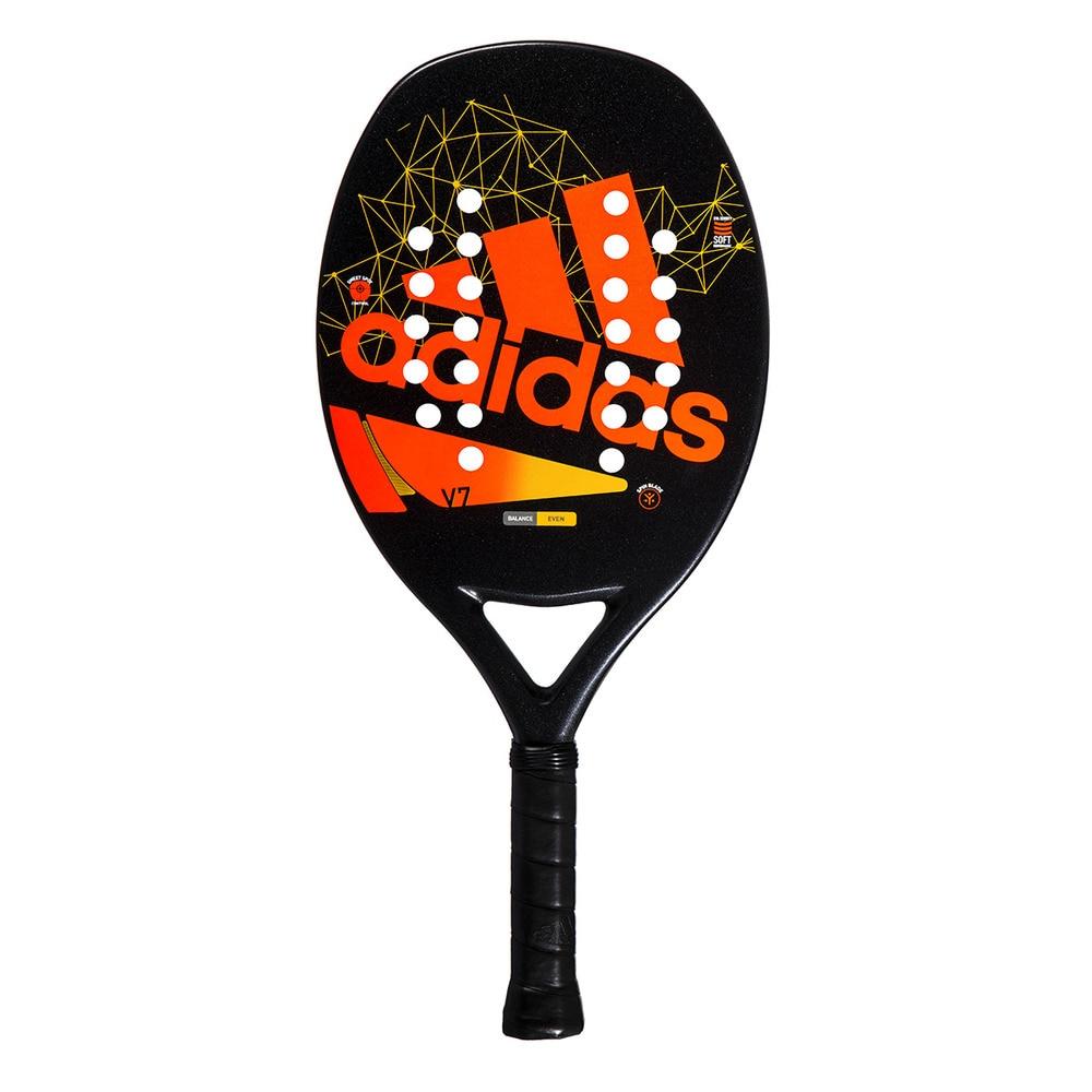Raquete de Beach tennis Adidas ADI BT V7  - Laranja + Brinde 3 Bolas  - REAL ESPORTE