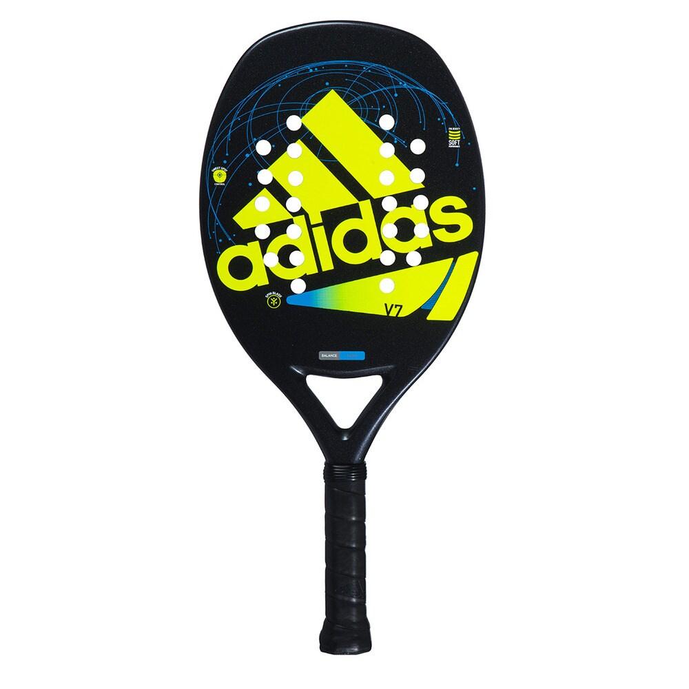 Raquete de Beach tennis Adidas ADI BT V7  - Verde + Brinde 3 Bolas  - REAL ESPORTE